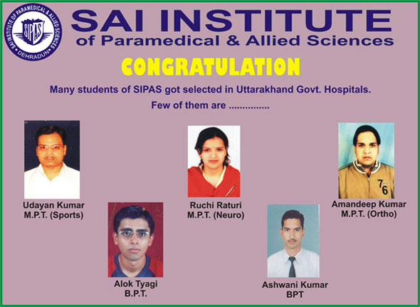 List Of Placed Student - Sai Group Of institutions  Best